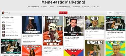 Hubspot Pinterest Memes