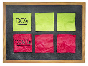 dos and don'ts of marketing