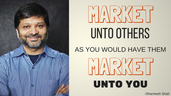 dharmesh shah quote marketing