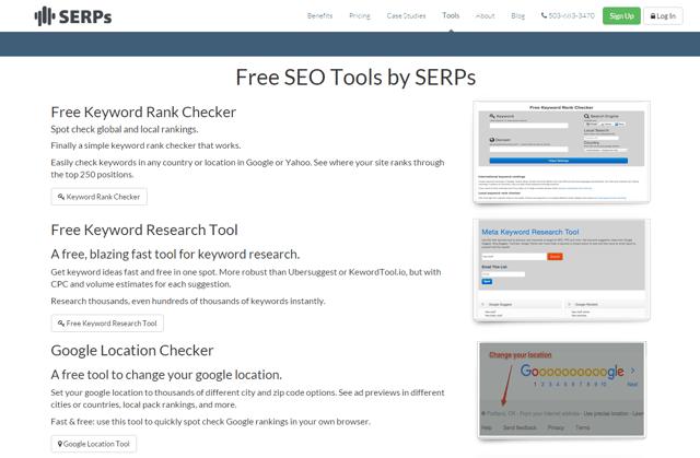 serps monitor keywords